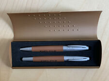 Bettoni Pens set with DELPHI Logo (Rollerball + Ball point)