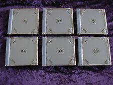 Set of 6 NEAR MINT Rare Sega Dreamcast Empty Game Cases - Official Case
