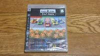 Sony Playstation 3 Pixel Junk 3 in 1 Pack Korean Version PS3 Game Factory Sealed