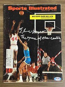 ELVIN HAYES signed SPORTS ILLUSTRATED 1-29-1968 Autograph PSA/DNA UCLA Houston