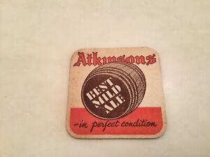Atkinsons Brewery Beermat