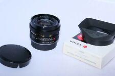 Leica Elmarit-R 24mm f2.8 lens. Just CLA'd. Film or Digital. Canon, Sony, Nikon