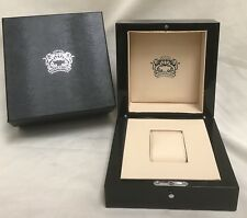 Technolink Genuine Diamond Watch Case & Storage Box (box only) New Condition