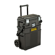 STANLEY FATMAX 020800R 4-in-1 Mobile Work Station Tool Machine Box Wheel Tray