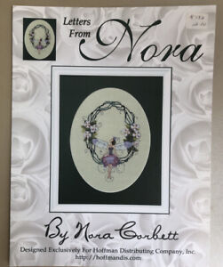 Letters From Nora O Cross Stitch Pattern Chart Olivia Fairy