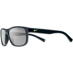 NEW NIKE KIDS Black & Volt Champ Sunglasses with Grey Lenses & NIKE Bag