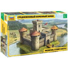 Zvezda 8512 Medievale STONE Castle 1:72 KIT MODELLINO DIORAMA