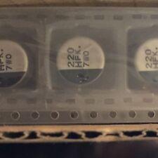 500 Panasonic composants électroniques EEEFK 1H221P SMD Aluminium Électrolytique Capuchon