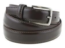 Cintura uomo pelle classica elegante marrone 125cm (taglia pantalone 52/54 EU)