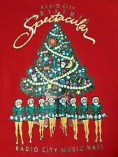 Radio City Music Hall Rockettes Christmas Spectacular Vintage Red Sweatshirt LG