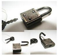 Lucchetto piccolo da valigia Vintage 60s-358-60s Suitcase Lock-Vorhängeschloss