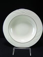 "Lenox China Sand Dune Platinum 9"" Rim Soup Plate New with Tags"
