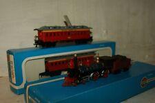 HO gauge EXCELLENT Airfix Wild West Union Pacific 4-4-0 Loco '119' and 2x Coach