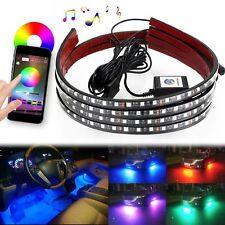 Luces Para Carro LED Debajo Del Coche Luz Neon Sonido Activo Inalambrico Remoto