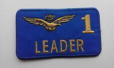 PATCH TARGHETTA PORTANOME LEADER 1 FRECCE TRICOLORI