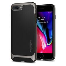 Spigen iPhone 8 Plus / 7 Plus Neo Hybrid Herringbone Case Gunmetal