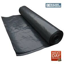 More details for dpm damp proof membrane 300mu 4m wide polythene sheet all sizes 1m to 25m
