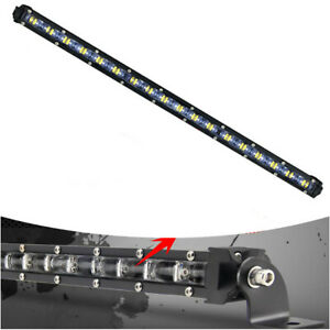 IP68 180W LED Light Bar Ultra Slim Spot Work Driving Lamp Off-road for Truck SUV