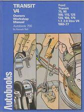 Ford Transit MK1 V4 1.7 y 2.0 litros (1965 - 1977) propietarios taller Manual