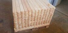 A Zaunlatten 70x9x2 100 Stück  sibirischen Lärche A klasse Holzzaun Zaunlatt