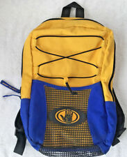 "Body Glove Mesh Backpack Lightweight Swim Sport Blue Yellow 10"" W x 15"" T -Nice"