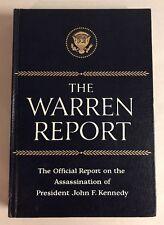 1964 The Warren Report The Assassination of President John F Kennedy HC Book JFK