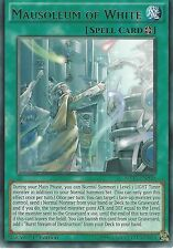 YU-GI-OH CARD: MAUSOLEUM OF WHITE - RARE - MP17-EN030 1ST EDITION