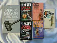 SIX (6) books by Erle Stanley Gardner: 8 Perry Mason and 1 written as A.A. Fair