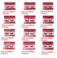 [ I ENVY BY KISS ] Chic / Glam / Natural Iconic (3 packs Eye Lashes Set)
