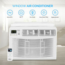 Remote Control Window Mount 8000 BTU Mini Air Conditioner Energy Star AC White