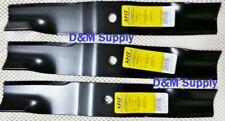"Set of 3 Bunton Snapper  mower blades to fit John Deere 52"" PL4206 1-7037 29246"