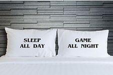 Pillowcases Sleep Night Game Teenagers Bedroom Bedding Funny Novelty Gift WSD757