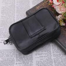 Women Genuine Leather Coin Card Wallet Pouch Mini Purse Zipper Small Change Bag