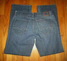 HUGO BOSS HB31 Dark Button Fly Jeans Sz 36x34