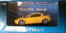 MAZDA RX-8 COUPE 2003 LIGHTNING YELLOW AUTOART # 55921 1/43 JAPAN GELB JAUNE