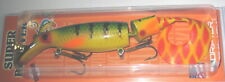 "9"" Super Believer Drifter Tackle Jointed Musky Pike Lure Perch SB8J-05"