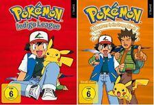 Pokémon Staffel 1+2 NEU OVP DVD Box Set Pokemon / Indigo Liga+Adventures in the