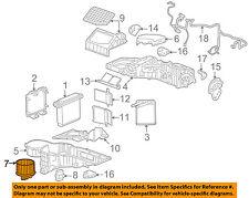 Hummer GM OEM 2008 H2 6.2L-V8 Evaporator Heater-Fan & Motor 89019320
