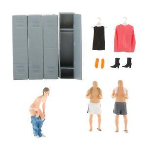 1/64 Scenario People Figures Figurine Diorama Miniature Decor Accessories
