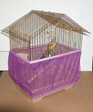 Sheer Guard Bird Cage Skirt - Size Medium