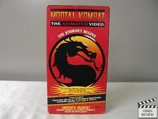 Mortal Kombat: The Animated Video VHS