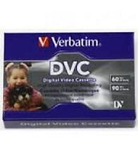 4 x VERBATIM DVC Digital Video Cassette 60 90 Min Mini DV
