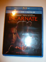 Incarnate Blu-ray & DVD 2-Disc Set horror movie Aaron Eckhart UNRATED!