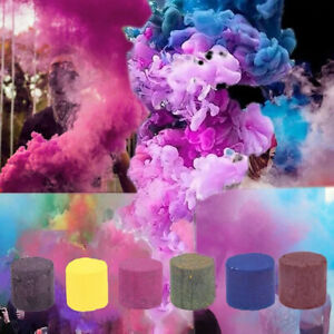 Multi-Colors Smoke Effect Cake Shows Bomb Stage Photography Party Aiding Toys