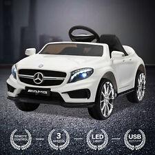 Elektro Kinderauto Mercedes Kinderfahrzeug Kinder Elektroauto 2x 35W 12V Weiß