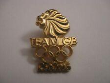 RIO 2016 OLYMPIC GAMES TEAM GB METAL PRESS PIN BADGE