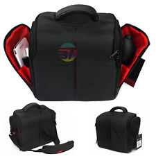 SLR DSLR Lens Camera Nylon Bag Carry Case For Nikon Canon EOS Sony Olympus Cover