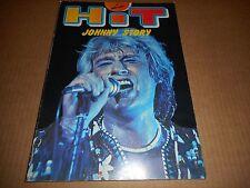 """Livre Johnny Hallyday 1979  """"Hit Johnny Story"""""""