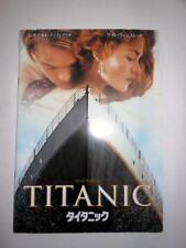 Titanic Movie Program Book Pamphlet, Leonardo Dicaprio Kate Winslet (Japan Ver.)