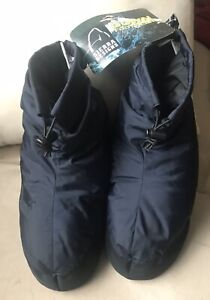 Tags On Sierra Designs Down Bootie Slippers Women's Size XS Camping Cold Weather
